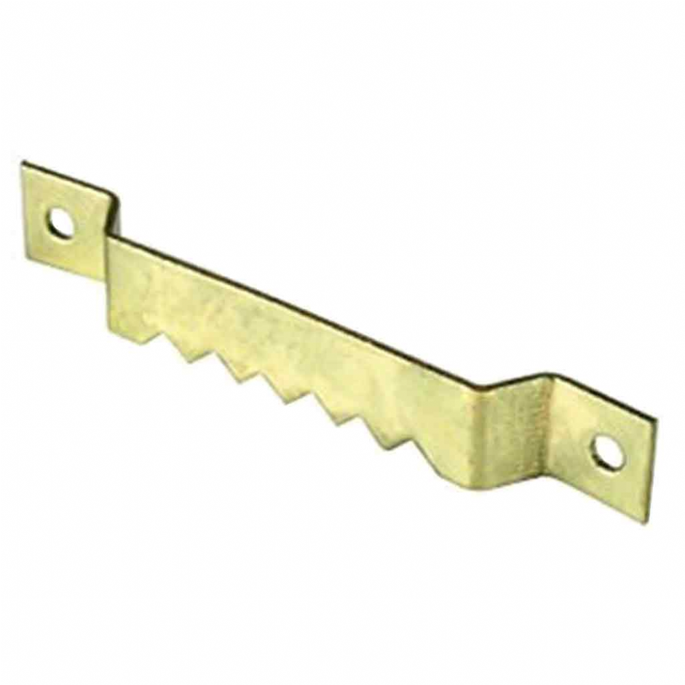 Saw Tooth  Hanger 63mm Brass Plated